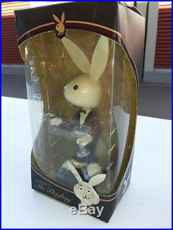 Rare Vintage Item. Playboy's Mr. Playboy Bobblehead Figure with Martini & cigar