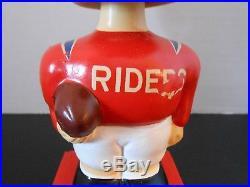 Rare Vintage Ottawa Rough Riders Bobblehead CFL 1961