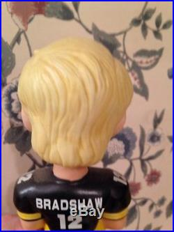 SAMS Terry Bradshaw Bobble head. Vintage Bobbing head. Home Black