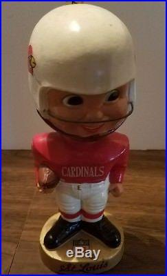 ST. LOUIS CARDINALS 1967 NFL Vintage Bobble Head Sports Specialties Bobblehead