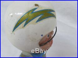 San Diego Chargers Vintage Late 1960's Football Bobblehead Nodder Fair Shape