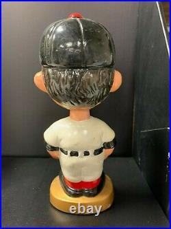 San Francisco GIANTS Vintage Nodder Green Base Bobblehead Bobbing Bobble Head