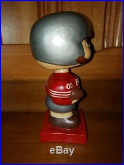 San Franciso 49ers 1960 Square Base Vintage Nodder/Bobbin Head/Bobbing Head MINT