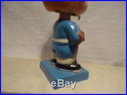 Scarce Toronto Maple leaf hockey bobblehead nodder 1960's figure sports vtg