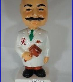 Sicks Rainier brewmister bobblehead nodder 1960 vintage htf beer company