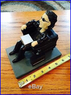 Super Rare Vintage Maxell Blown Away Bobblehead Statue Limited Edition
