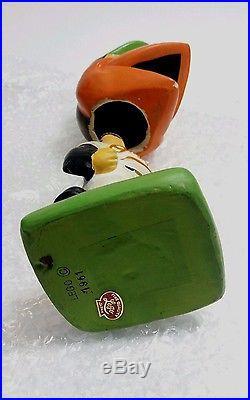 The Bird Baltimore Orioles Baseball Nodder Bobblehead 1961 Lego Japan Vintage