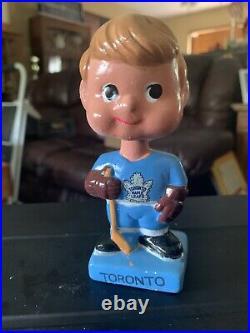 Toronto Maple Leafs Vintage Bobblehead Mini Hockey Nodder 1962 ORIGINAL BOX