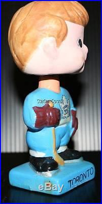 Toronto Maple Leafs Vintage Original 1961-63 Bobble Head Nodder Very Nice Shape