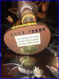 VERY RARE Vintage Crash Bandicoot Bobblehead Sega Genesis Playstation PS1
