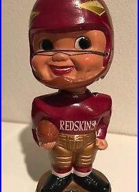 VERY RARE Vintage Orig. Washington Redskins Arrow Logo Bobblehead Nodder Japan