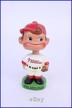 VINTAGE 1960'S PHILADELPHIA PHILLIES BASEBALL BOBBLE HEAD NODDER
