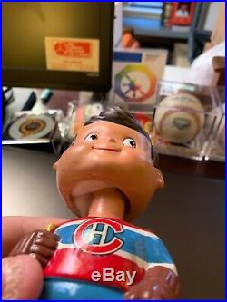 VINTAGE 1960's 1962 MONTREAL CANADIENS NODDER BOBBLEHEAD DOLL GREAT SHAPE