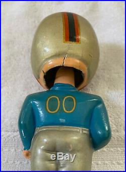 VINTAGE 1960s AFL NFL HOUSTON OILERS BOBBLEHEAD NODDER BOBBLE HEAD