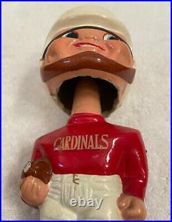 VINTAGE 1960s AFL NFL ST LOUIS CARDINALS BOBBLEHEAD NODDER BOBBLE HEAD