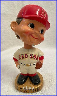 VINTAGE 1960s MLB BOSTON RED SOX BASEBALL BOBBLEHEAD NODDER BOBBLE HEAD