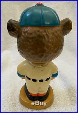 VINTAGE 1960s MLB CHICAGO CUBS BASEBALL BOBBLEHEAD NODDER BOBBLE HEAD