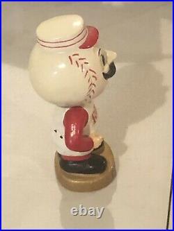 VINTAGE 1960s MLB CINCINNATI REDS BASEBALL BOBBLEHEAD NODDER BOBBLE HEAD 1968