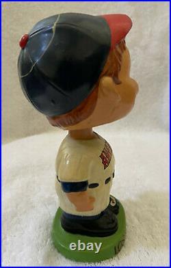 VINTAGE 1960s MLB LOS ANGELES ANGELS BASEBALL BOBBLEHEAD NODDER BOBBLE HEAD