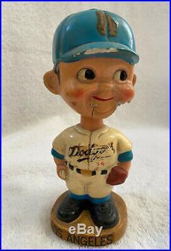 VINTAGE 1960s MLB LOS ANGELES DODGERS BOBBLEHEAD NODDER BOBBLE HEAD KOUFAX