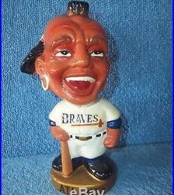 Vintage Bobble Head Nodder Atlanta Braves Japan 1960
