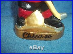Vintage Bobble Head Nodder Chicago Blackhawks Player Japan One Of Many Listed