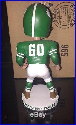 VINTAGE CHuck BEDNARIK Philadelphia Eagles Bobble Head Concrete Charlie HOFer