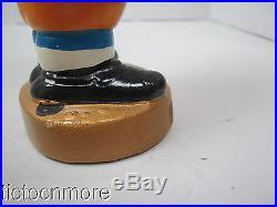 Vintage San Diego Chargers #00 Football Player NFL Bobblehead Nodder Gold Base
