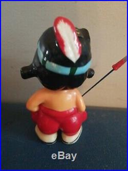 (VTG) 1957 Milwaukee Braves NL champs baseball mascot nodder bobblehead japan