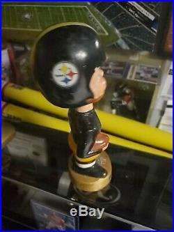 VTG 1960's Pittsburgh Steelers Japan NFL Football Bobblehead Nodder