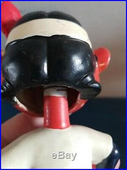 VTG 1960s Cleveland indians mascot bobbing head nodder doll green base japan