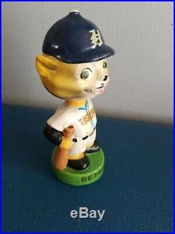 (VTG) 1960s Detroit tigers mascott mini bobble head nodder doll Japan rare