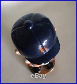 (VTG) 1960s HOUSTON ASTROS CHAMPIONS BOBBLE HEAD NODDER BASEBALL DOLL GOLD