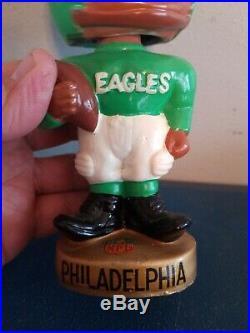 (VTG) 1960s Philadelphia eagle's black face bobble head nodder Japan rare