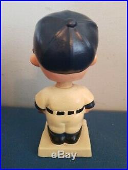 VTG 1960s minesota twins bobbing head nodder doll white base japan