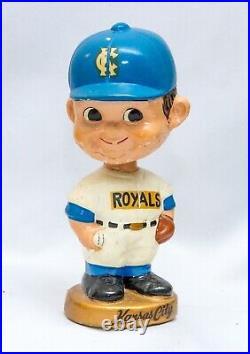 VTG Kansas City Royals Baseball Bobble Head 7 Nodder MLB