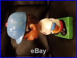 Very Rare Vintage Early 1960's Black Face Chicago Cubs Bobblehead Nodder Doll