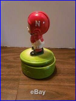 Vintage 1950's Nebraska Football Japan Musical Box