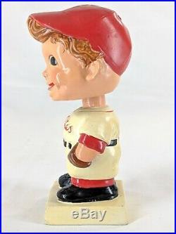 Vintage 1960 Philadelphia Phillies Nodder Bobble Head Square Base Japan Baseball