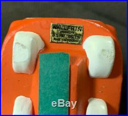 Vintage 1960 Wallfrin Racer #2 Bobblehead Nodder Rare Japan Great Shape