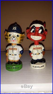 Vintage 1960's Baseball Bobblehead Nodder Mini's Collection Rare and Beautiful
