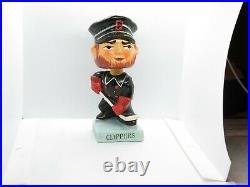 Vintage 1960's Bobble Head Nodder Baltimore Clippers Mascot Hockey