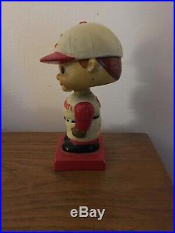 Vintage 1960's Cincinnati Reds Bobblehead Nodder