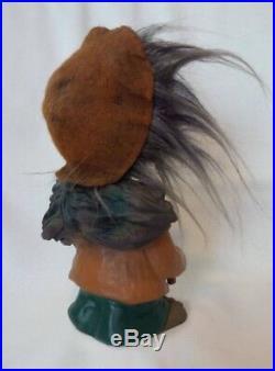 Vintage 1960's HEICO West Germany Nodder Bobble Head Troll Figure Rare
