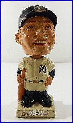 Vintage 1960's Mickey Mantle Bobble Head Nodder ^ New York Yankees Rare