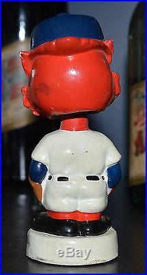 Vintage 1960's Miniature St. Louis Cardinal Bobble Head Nodder Mini