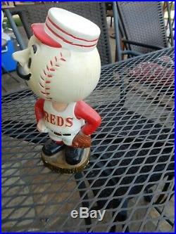 Vintage 1960's Red Bobble Head Excellent Shape