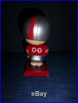 Vintage 1960's San Francisco Forty Niners BobbleHead NFL Football Nodder Japan