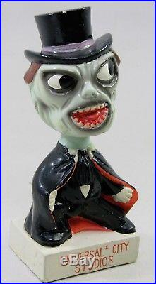 Vintage 1960's Universal City Studios Monster Bobbing Bobble Head Nodder Doll