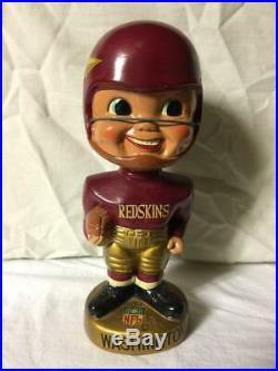 Vintage 1960's Washington Redskins Bobblehead Extremely Rare Nodder Nr Mint